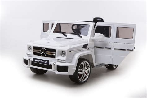 mercedes truck white mercedes g63 amg electric ride on car white available