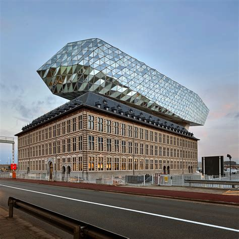 Zaha Hadid Architects Sits Glass Lump On Top Of Antwerp