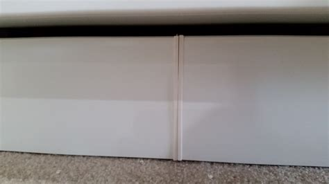 Basement Cabinet Toe Kick Quick Fix  Ikea Hack  Loving Here