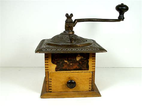 Antique Parkers National Coffee Mill #403