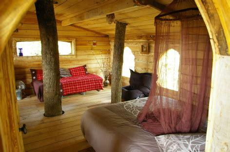 chambre hote dans les arbres dormir dans une cabane en bois dans les arbres en hautes