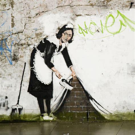 Bansky Street Cleaner  Chalk Farm  Flickr  Photo Sharing