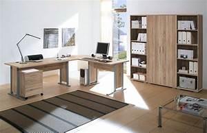 Büromöbel Komplettset : 7 tlg arbeitszimmer office line ~ Pilothousefishingboats.com Haus und Dekorationen