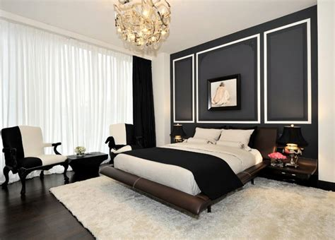 Bedrooms With Accent Walls by 20 Beautiful Black Accent Walls In Different Bedrooms