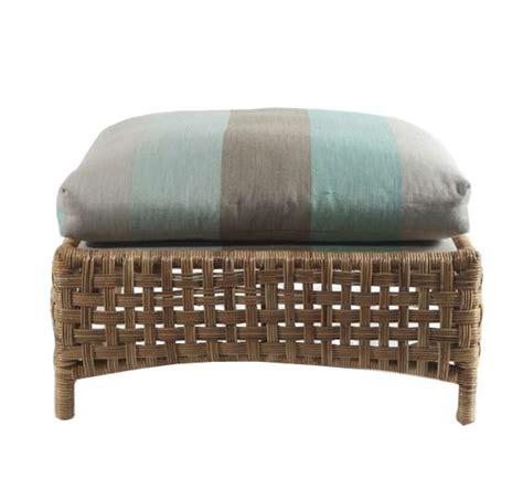 brighton ottoman wicker material indoor furniture
