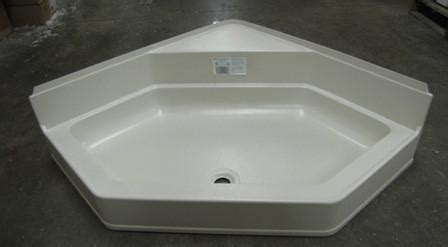 shower pan neo angle    wseat dam parchment white elk mountain