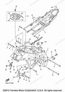 Yamaha Motorcycle 2006 Oem Parts Diagram For Frame