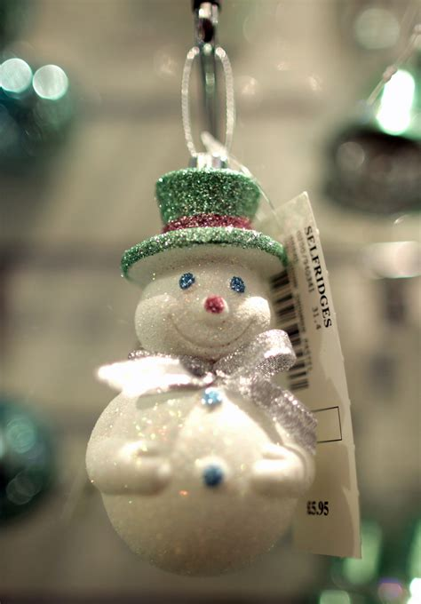 snowman christmas ornament 171 cbs baltimore
