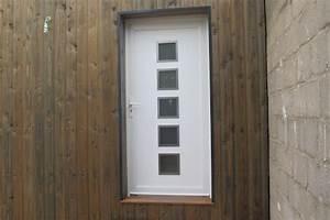 extension en bois avec bardage red cedar With porte d entrée pvc avec lavabo de coin salle de bain