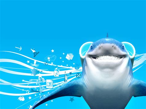 Animated Shark Wallpaper - shark wallpaper free wallpaper for computer tedlillyfanclub