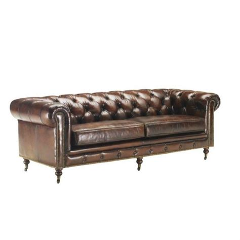 canape chesterfield cuir occasion max min