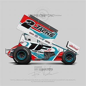 stunning sprint car graphics template ideas resume ideas With vehicle graphic templates