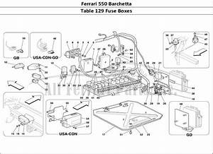 Buy Original Ferrari 550 Barchetta 129 Fuse Boxes Ferrari
