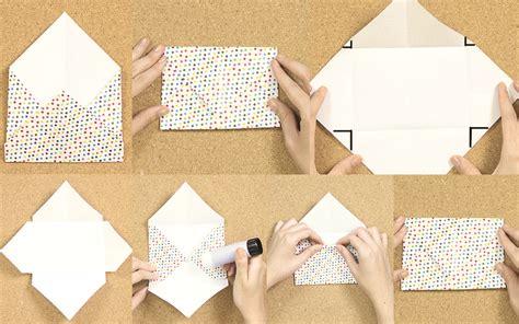 como hacer un sobre para invitaciones como hacer sobres de papel 3 estilos craftingeek