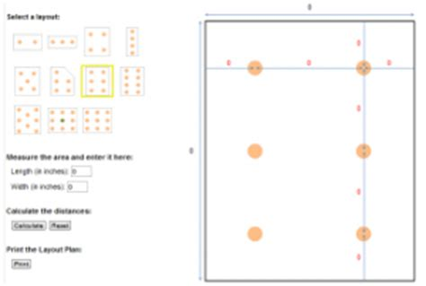 free recessed lighting calculator