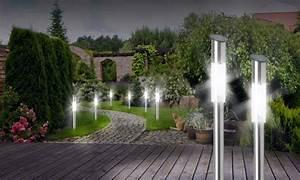 Solarlampen Für Draußen : solarlampen sticks f r drau en groupon goods ~ Whattoseeinmadrid.com Haus und Dekorationen