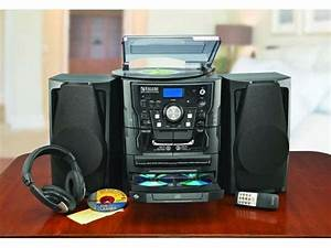 Encore Shelf Stereo System With Turntable  3