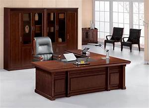 China 2010 new design wood office table 2d 2435a china for Office table designs photos