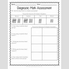 {grade 2} Ontariobased Diagnostic Math Assessment Test Tpt