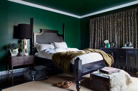 green bedroom ideas  light green  dark green