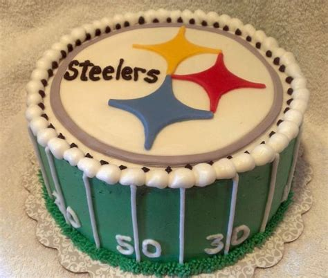 steelers birthday cake pittsburgh steelers cake cake by sugar baby cake company