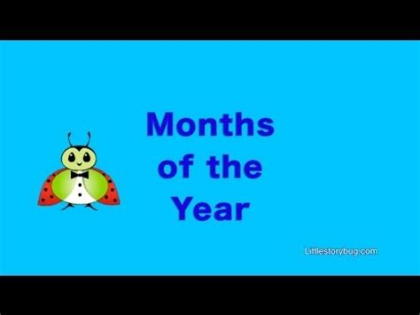 months of the year song for preschool preschool learning months of the year song 260