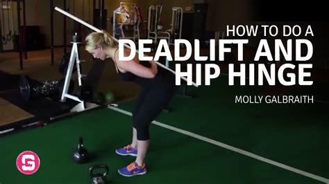 hinge hip deadlift strength gone