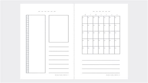 bullet journal template free bullet journal printable calendar 2018