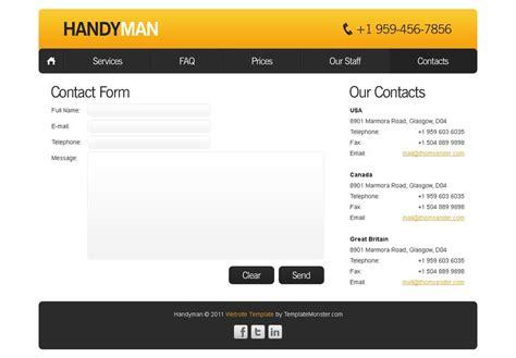 free website template maintenance services