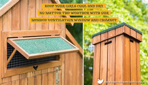 chicken coop ventilation fans the mansion walk in chicken coop designed in australia