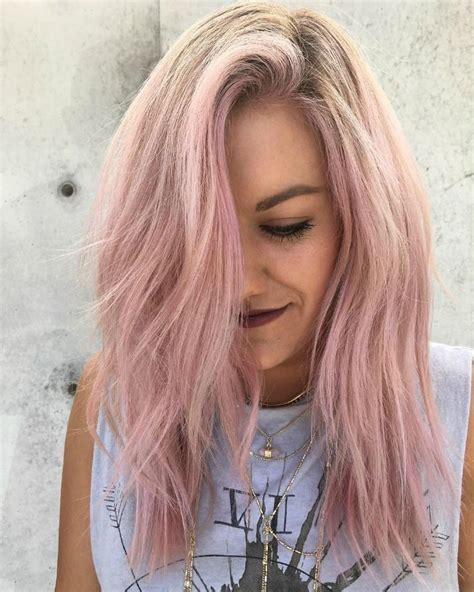 Blushing Pink Ombre Hair Pink Ombre Hair Ideas Beauty