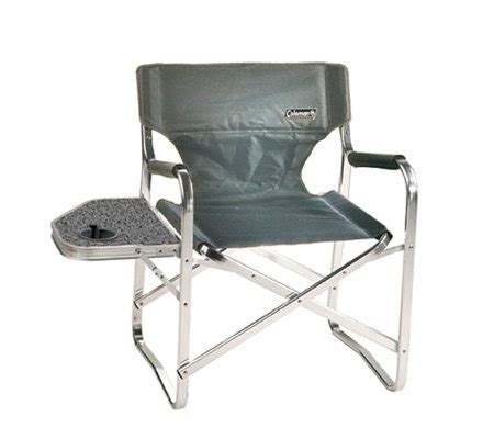 coleman deck chair with table coleman folding deck chair with side table andcup holder