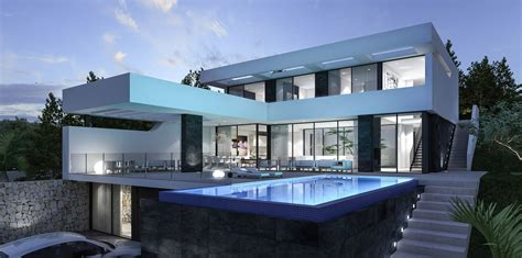 Moderne Haus Villa by New Projects Be Spoiled