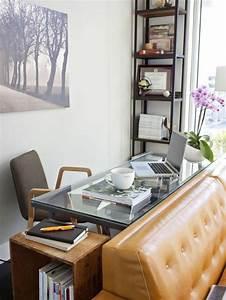 Schreibtisch Im Wohnzimmer : 1001 kreative wohnideen zur raumoptimierung ~ Markanthonyermac.com Haus und Dekorationen