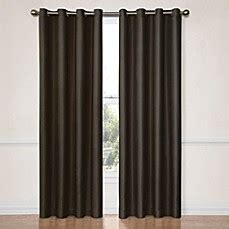 Insola Insulated Drapery by Insola Darcy Blackout Window Curtain Panels Bed Bath