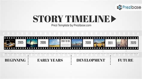 timeline template for story story timeline presentation prezi template prezibase