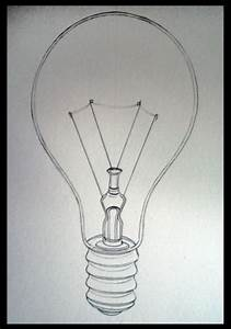 Image Gallery light bulb pencil drawing