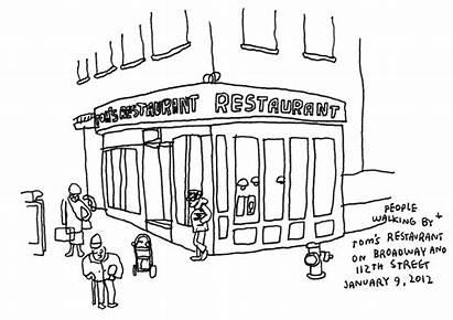Draw Restaurant Anchor Drawing Outside York Tom