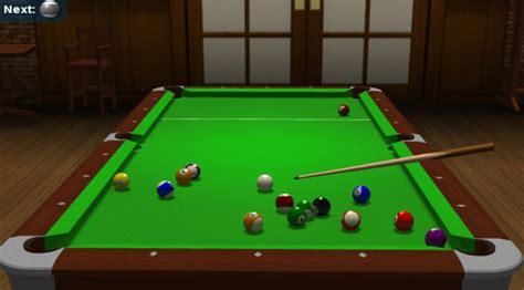 Free 3d Billiard Games