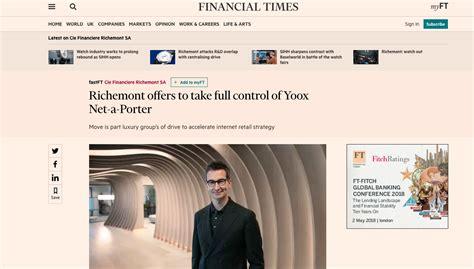 Swiss Firm Richemont Offers €2.8bn To Buy Yoox Net-a-porter Garage Bourgoin Jallieu Montlucon De Jardin En Bois Renault Bernay Peugeot Honfleur Car Berck Sur Mer Isolation Plafond