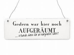 Vintage Schilder Mit Sprüchen : gestern war aufger umt vintage schild shabby holz von interluxe auf familie ~ A.2002-acura-tl-radio.info Haus und Dekorationen