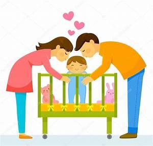 parents kissing child — Stock Vector © ayeletkeshet #125746556