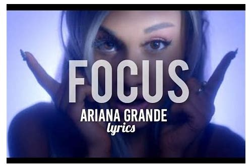 ariana grande focus download mp3