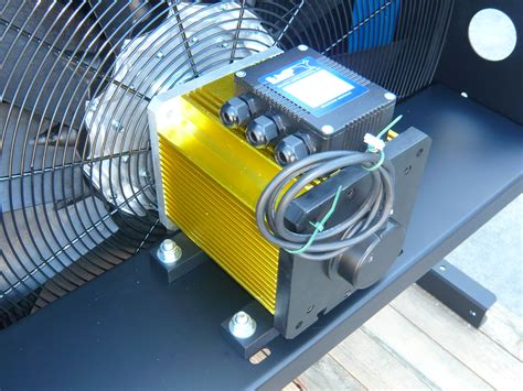 Oil Cooler With Dc Motor Driven Fan