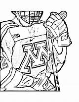 Minnesota Gopher Gophers sketch template