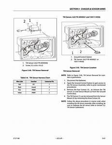 Tilt Sensor Removal -61  Tilt Sensor Location