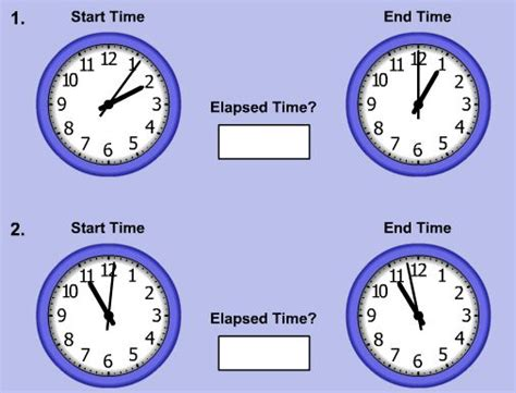 search results elapsed time grade calendar