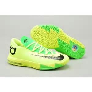 new nike kd 6 mens yellow volt green rosejack