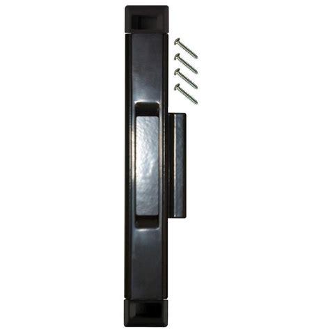 lockit sliding glass door lock lockit sliding glass door black interlocking latch