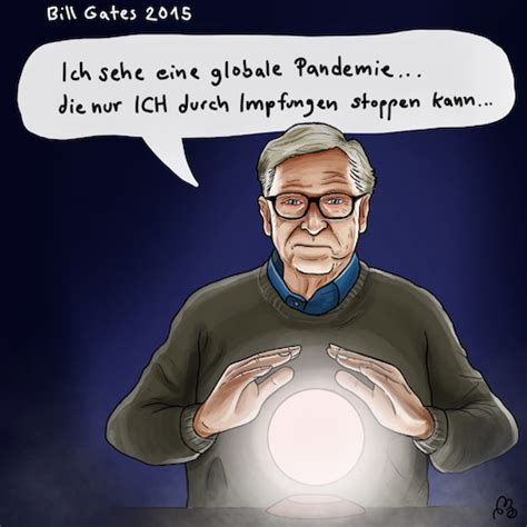 Bill Gates der Hellseher By LaserLurch | Politics Cartoon ...